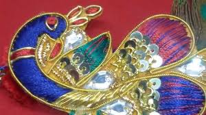 beautiful peacock rakhi design youtube