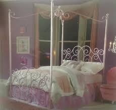Princess Canopy Bed Frame Standard Princess Canopy Bed Redeco Pinterest Princess