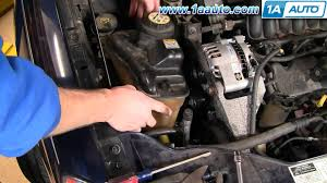 2004 Ford Escape Fuse Box Diagram How To Install Replace Alternator Ford Taurus V63 0l 00 07 1aauto