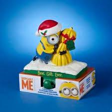 minion ornaments de1171 despicable me king bob minion
