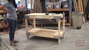 Build A Woodworking Bench Garage Workbench 36 Awesome Plans For Building A Workbench In A