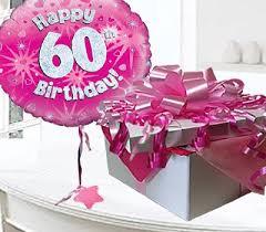 60 year birthday happy 60th birthday balloon in a box pink code jgf60h60bb 60