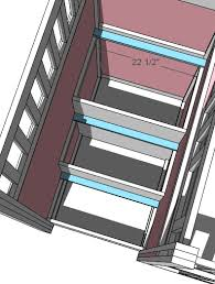 Ana White Build A Side Street Bunk Beds Free And Easy Diy by Ana White Storage Stairs For The Playhouse Loft Bed Diy Projects