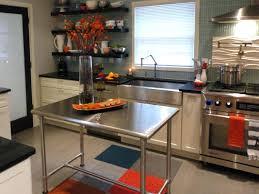 stainless steel movable kitchen island kitchen island stainless steel top movable island kitchen prep