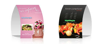 standard table tent card size 4x6 table tents jpg