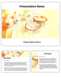 make great looking powerpoint presentation with our wedding rings
