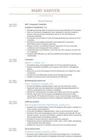 Accounting Controller Resume Corporate Controller Resume Samples Visualcv Resume Samples Database