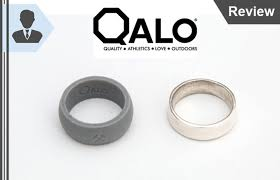 qalo wedding bands qalo review convenient durable silicone wedding rings