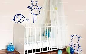 stickers elephant chambre bébé bébé éléphant