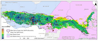 Subsaharan Africa Map Land Suitability Modeling Of Shea Vitellaria Paradoxa