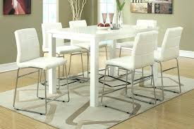 high dining room table sets counter height kitchen table and chairs counter high kitchen table
