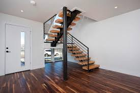 Wooden Stair Banisters Stairs Modern Stair Railing For Cool Interior Staircase Design
