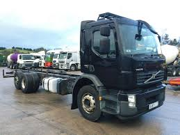 2007 volvo truck 2007 57 plate volvo fe 280 6x2 rear lift 27ft chassis cab