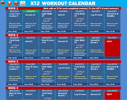 Crossfit Programming Spreadsheet Tapout Xt2 Excel Workout Tools Razno Pinterest Workout