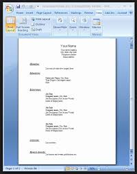 resume format on word resume format word file in fresh 6 free simple expin