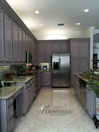 Refinished Kitchen Cabinets Refinished Kitchen Cabinet Project Using Chalk Paint Decorative