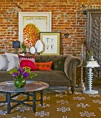 colorful sofa pillows chesterfield living room living room eclectic with throw pillows