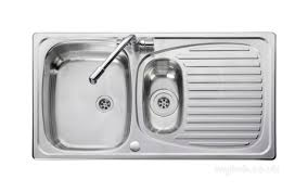 leisure kitchen sink spares aga rangemaster euroline el9502 tc wm 1 5 bowl sink and tap