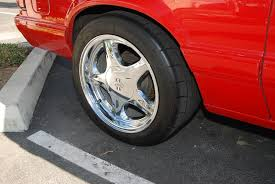 mustang pony wheels ford mustang foxbody 17 inch rear chrome pony wheels flickr