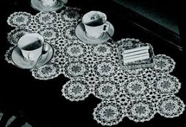 Coffee Table Cover Coffee Table Cover Pattern 1543 Crochet Patterns