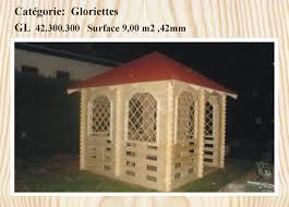 Gloriette De Jardin En Bois Gloriette En Bois 9 M2