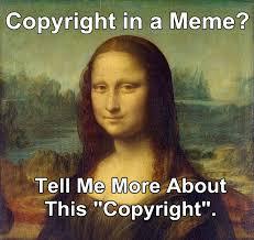 Meme Copyright - copyright in memes by toronto patent lawyer elias borges