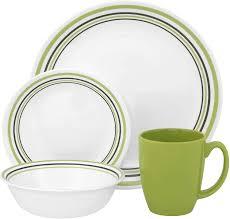 corelle livingware 16 dinner set service for 4