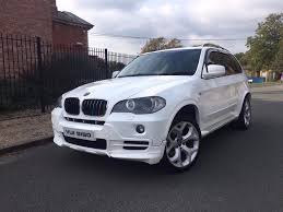 Bmw X5 White - bmw x5 2007 white m sport kit in basildon essex gumtree