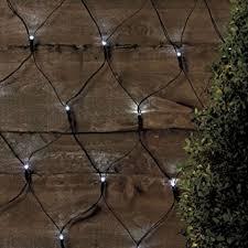 Outdoor Net Lights 105 Led Outdoor Net Lights Solar Powered White Garden String