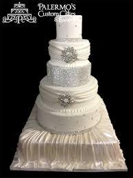 wedding cake jewelry rhinestone jewels wedding cake palermo s custom cakes bakery