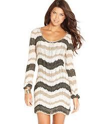 juniors sweater xoxo juniors dress sleeve zigzag knit sweater dress