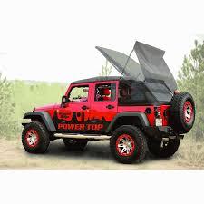 jeep wrangler 4 door top all things jeep powertop top kit for jeep wrangler jk 4