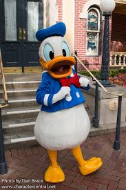 donald duck disney character central