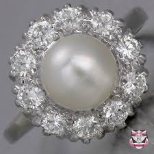 Pearl Wedding Rings by Antique Jewelry Antique Engagement Ring Collection Vintage