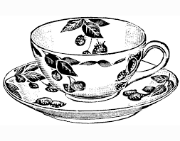 Coloring Pages Tea Cup Cup Coloring Page