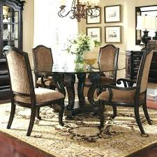 dining table upholstered arm chair traditional dining rooms