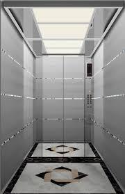 stainless steel villa lift