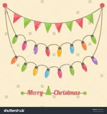 fairy party christmas light bulbs christmas stock vector 228984595