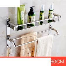 Bathroom Shower Shelves Stainless Steel by 50 Off Stainless Steel Towel Rack The Shelf In The Bathroom Wall