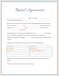 39 excellent rental lease and agreement template examples thogati