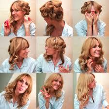Einfache Frisuren Zum Selber Machen Locken by Oben Einfache Frisuren Lange Haare Locken Deltaclic