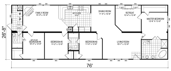 double wide floor plan 5 bedroom mobile home images tours manufactured home and mobile