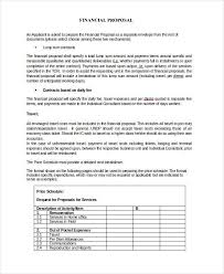 services proposal template doc service proposal template 14 free