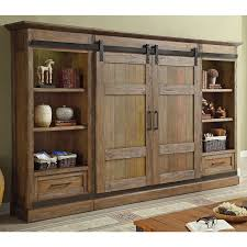 white sliding door cabinet sliding barn door wall unit cabinet entertainment center tv stand