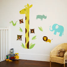 splashy personalized growth chart in nursery traditional with