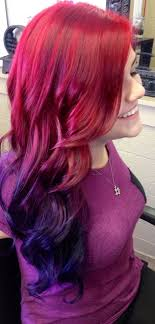 weave hairstyles with purple tips inspiring underdye in purple hair underneath pic of blue tips trends