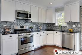 Kitchen With White Cabinets Kitchen White Kitchen Cabinets Design Cupboards In With Glass