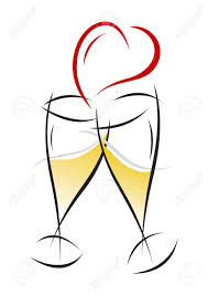 champagne clipart champagne clipart anniversary pencil and in color champagne