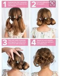 easy hairstyles for waitress s strange little buns strange flowers pinterest hair style