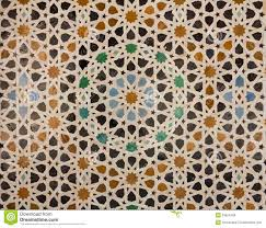 pattern of arabic tiling or mosaic stock images image 33624594